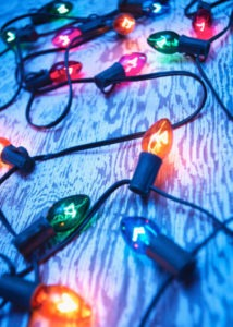 Decorating Your Home and Landscape for the Holidays - Christmas tree lights