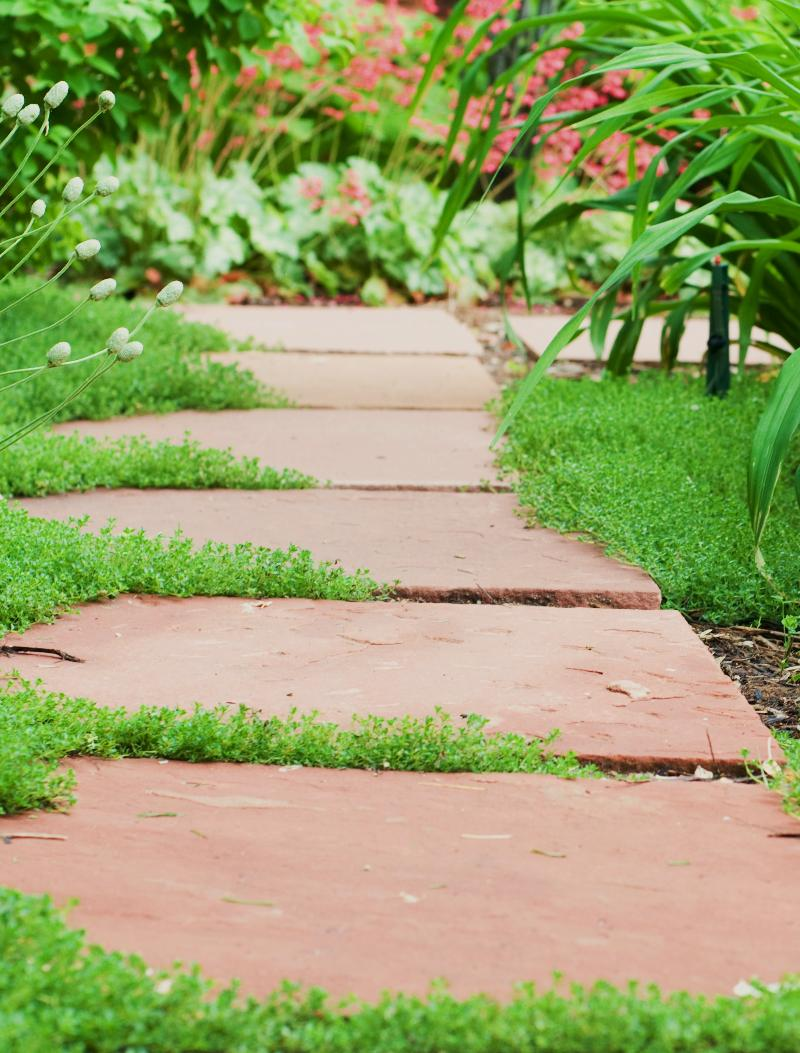 Stone walkway in garden royalty free stock photo image 34535795 - Selecting Landscaping Stone
